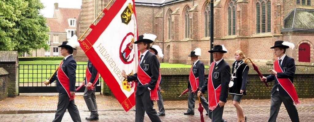 Optocht in Hilvarenbeek